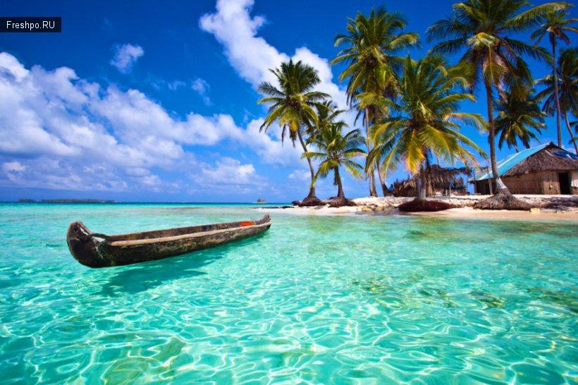 Затерянный рай - райский уголок под названием архипелаг Сан-Блас