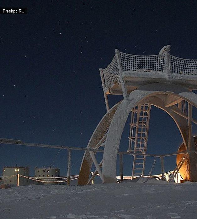 Научно-исследовательская станция Concordia,  фотографии с самого центра Антарктиды!