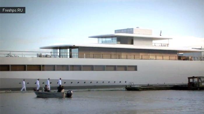 Яхта Венус (Venus) спроектированная Стивом Джобсом при жизни!