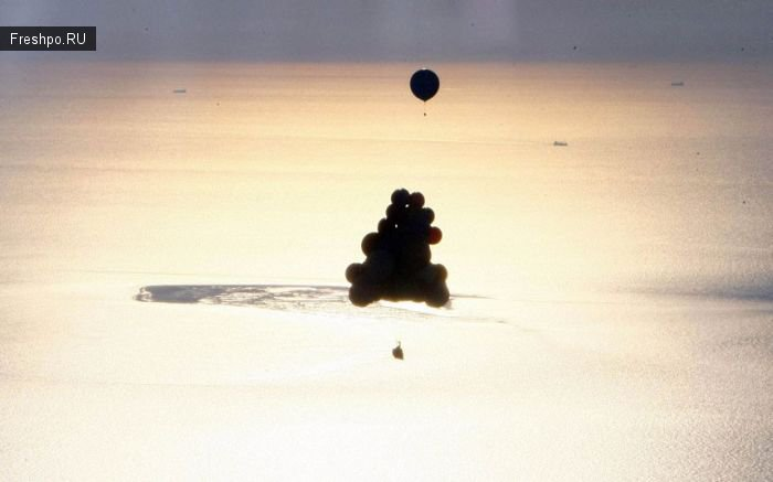 Можно ли летать на шарах, наполненных гелием или фотоотчет любителя!
