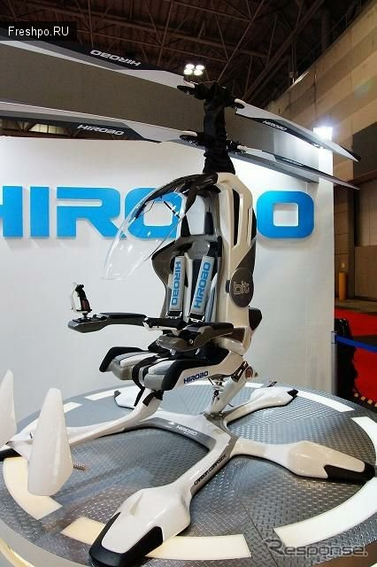 Мини вертолет, работающий от аккумулятора разгоняющийся до 100 км/ч.