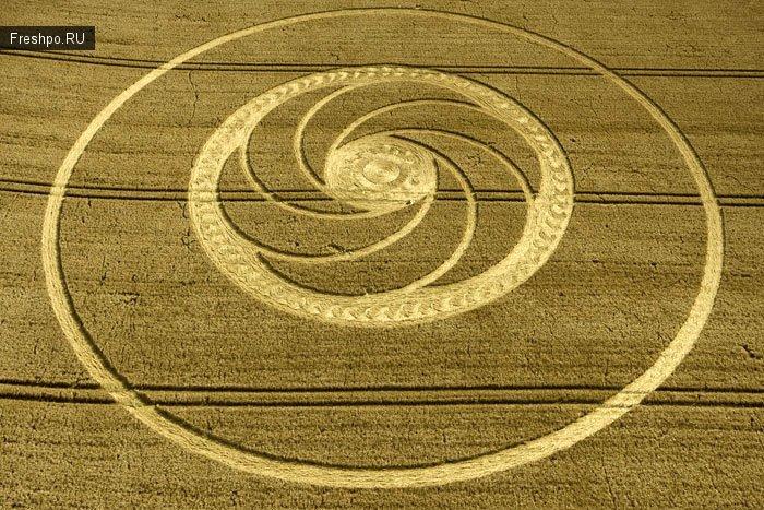 Круги на полях или сверхьестественные и невероятные походения НЛО.