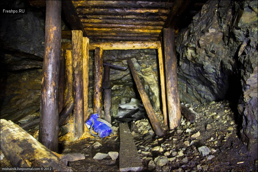 Путешествие по подземельям 18 века или заброшенные рудники