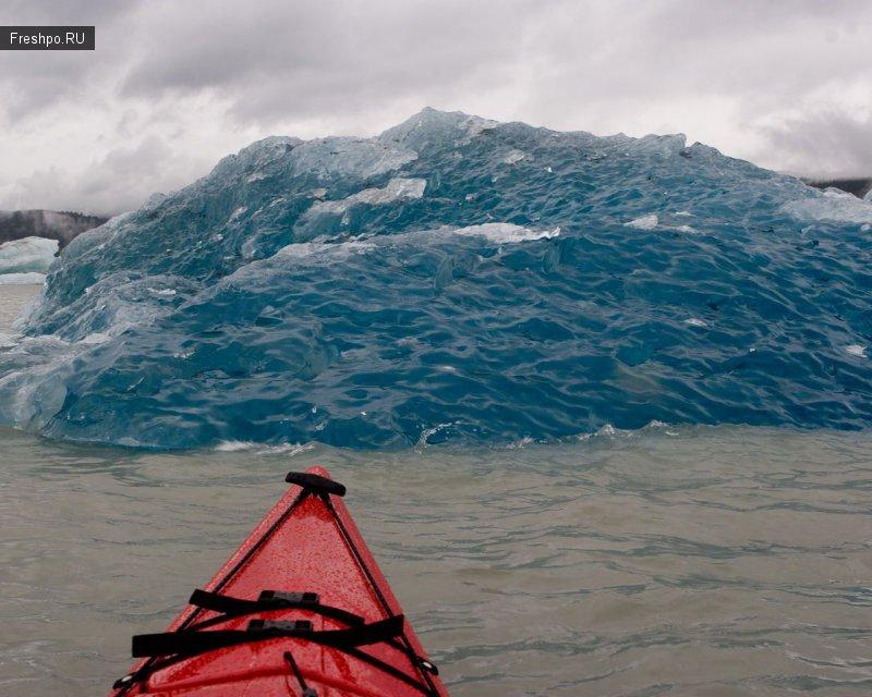 Как выглядит маленький айсбергом.