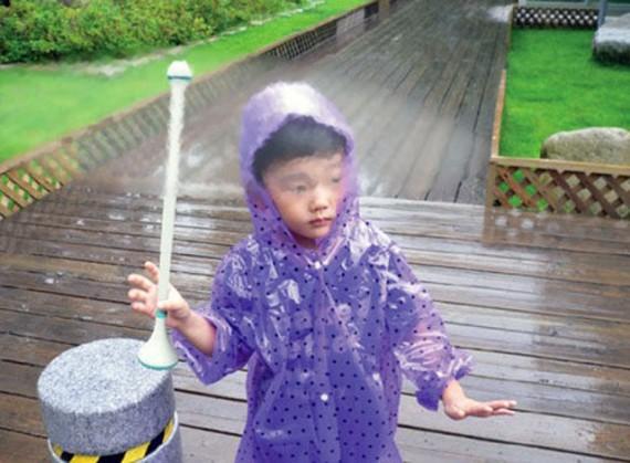 Невидимый зонт - благодаря технологиям невозможное возможно