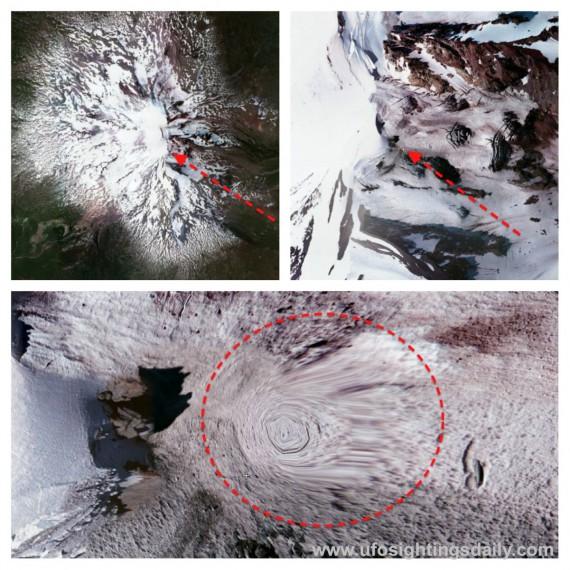 Уфологом из Вашингтона найдены «порталы внеземных цивилизаций», на склонах гор Адамс