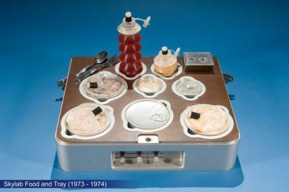 Как выглядит завтрак космонавта?