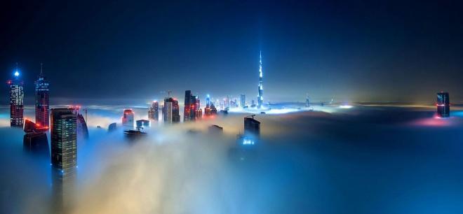 Город, который выше облаков: Дубай с 85 этажа (9 фотографий)