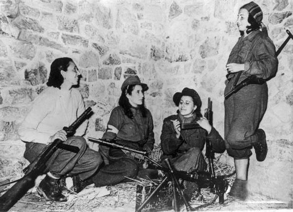 Ноябрь 1944г. итальянский антифашистский лагерь